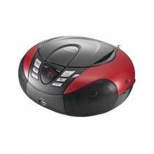 Radio z odtwarzaczem MP3 SCD-37 USB LENCO, red (AV3011)