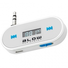 Transmiter FM BLOW for smartphone white (AV10002)