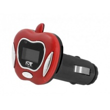 Transmiter FM MonoTech APPLE RED (AV10008)